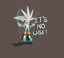 "Silver The Hedgehog ""It's no use!"" Unisex T-Shirt"