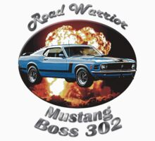 Ford Mustang Boss 302 Road Warrior by hotcarshirts