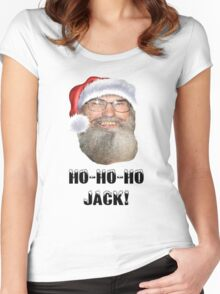HO HO HO JACK! Women's Fitted Scoop T-Shirt