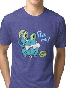 Froakie Tri-blend T-Shirt