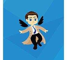 Angel Castiel Supernatural Photographic Print
