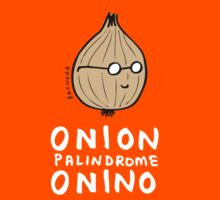 ONION >> PALINDROME = ONINO by David Barneda