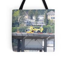 Eurocopter Helicopter Tote Bag