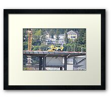 Eurocopter Helicopter Framed Print