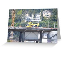 Eurocopter Helicopter Greeting Card