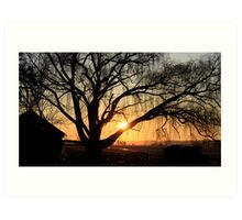 PA Sunrise Art Print