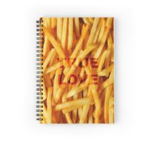 Fries before anyone. Spiral Notebook