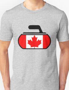 Canada Curling Unisex T-Shirt
