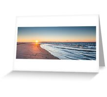 Sunset Over Toms Cove - Chincoteague National Wildlife Refuge, Virginia Greeting Card
