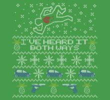 Ugly Sweater, Christmas Sweater I've Heard It Both Ways by pimator24