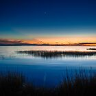 Twilight at Little Toms Cove - Chincoteague National Wildlife Refuge, Virginia by Jason Heritage