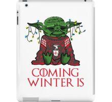 Coming Winter Is iPad Case/Skin