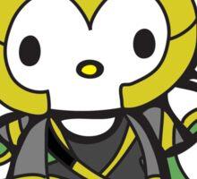 Hello Lokitty Sticker