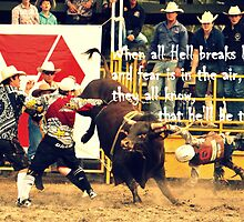 BULL FIGHTING CLOWNS. 2014, Calendar. by Barbara  Jean