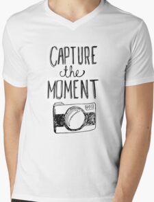 Capture the Moment Mens V-Neck T-Shirt