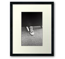 Film Shoes Framed Print