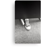 Film Shoes Canvas Print