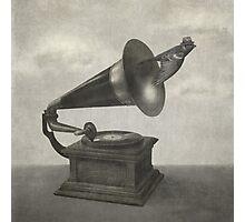 Vintage Songbird (mono)  Photographic Print