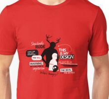 Hannibal Quotes Unisex T-Shirt