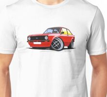 Ford Escort (Mk2) Mexico Red Unisex T-Shirt