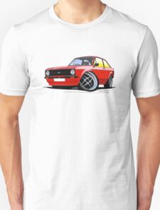 Ford Escort (Mk2) Mexico Red T-Shirt