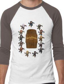 Bilbo's Barrel of Dwarves Men's Baseball ¾ T-Shirt