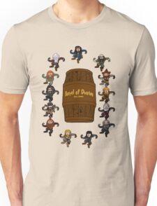 Bilbo's Barrel of Dwarves Unisex T-Shirt