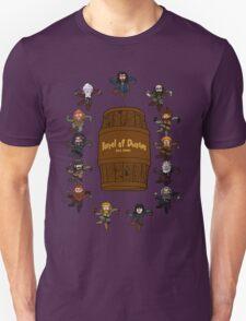 Bilbo's Barrel of Dwarves T-Shirt