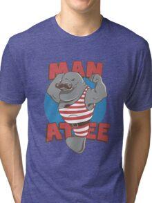 MANatee Tri-blend T-Shirt