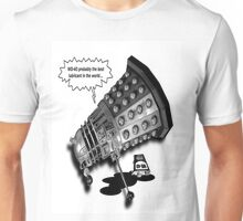 If you were the last Dalek in the Universe what would you do? Unisex T-Shirt