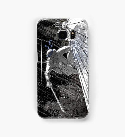 Ninja Turtle Leonardo in the Rain Samsung Galaxy Case/Skin