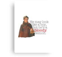 Peter Pan - Bloody demon. Metal Print