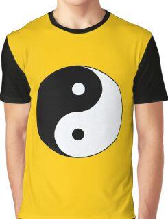 yin-yang symbol Graphic T-Shirt