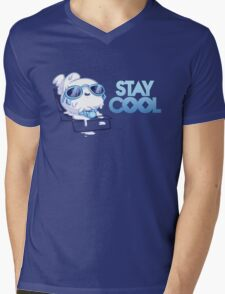 Stay Cool Mens V-Neck T-Shirt