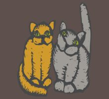 Cats couple - pets, cats, kittens, rescue,  Kids Clothes