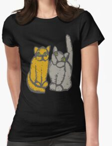 Cats couple - pets, cats, kittens, rescue,  T-Shirt
