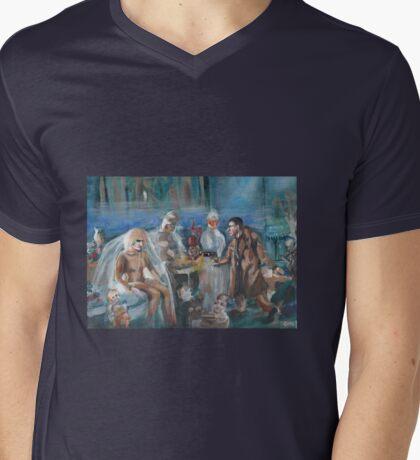 Blade Runner Mens V-Neck T-Shirt