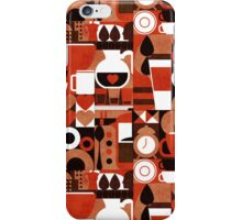 Coffee story iPhone Case/Skin