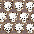 Boxy Skull by Kirk Shelton
