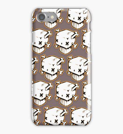 Boxy Skull iPhone Case/Skin