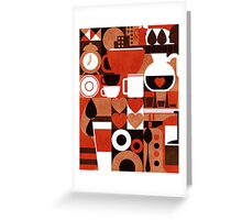 Coffee story Greeting Card