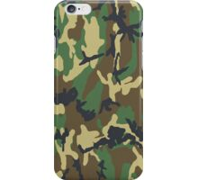 Camouflage - Woodland iPhone Case/Skin