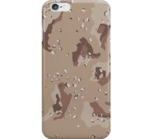 Camouflage - Desert iPhone Case/Skin