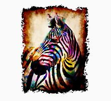 Zebra in Color by Mark Compton Unisex T-Shirt