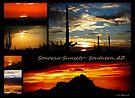 Sonora Sunsets~ Southern AZ by Kimberly Chadwick