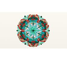 Inner Peace Mandala Sign Photographic Print