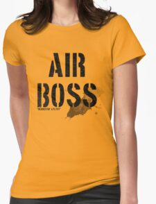 Air Boss (requestin' a flyby) Womens Fitted T-Shirt