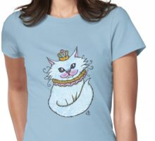 Little Blue Cheshire Womens Fitted T-Shirt