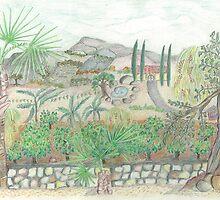 Ojai Orange Grove by Lily  Diamond