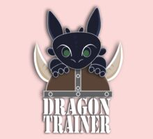 Dragon Trainer Tee (With Text) One Piece - Short Sleeve